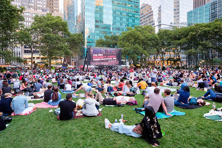 Attend a free outdoor movie
