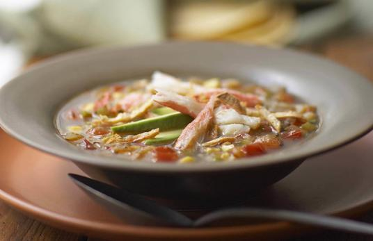 Alaska Snow Crab Tortilla Soup