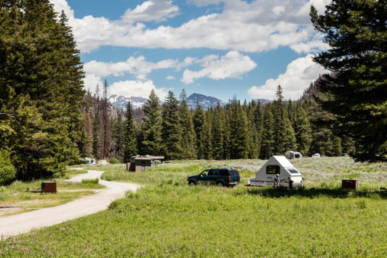 Slough Creek Campground, Yellowstone National Park, Wyoming