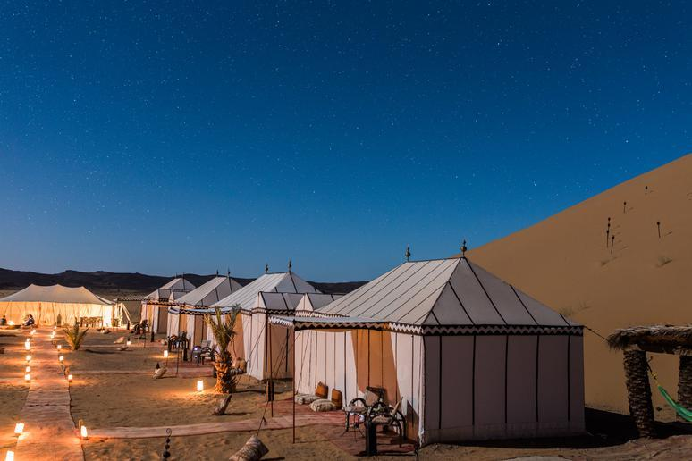 Desert Luxury Camp (Merzouga, Morocco)
