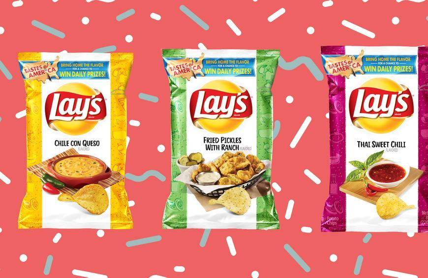 New Lays Flavors 2019 Lay's Launches 8 New Potato Chip Flavors Inspired by the Regions
