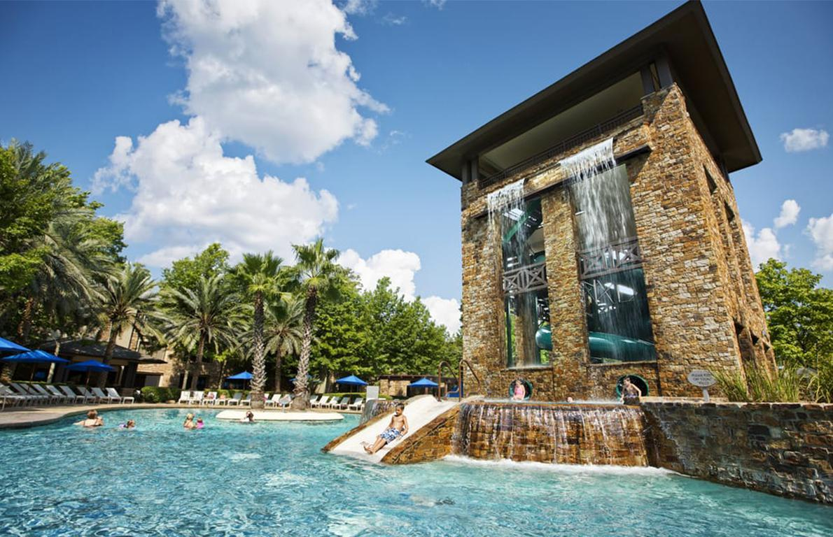 Forest Oasis Pool At The Woodlands Resort The Woodlands Texas
