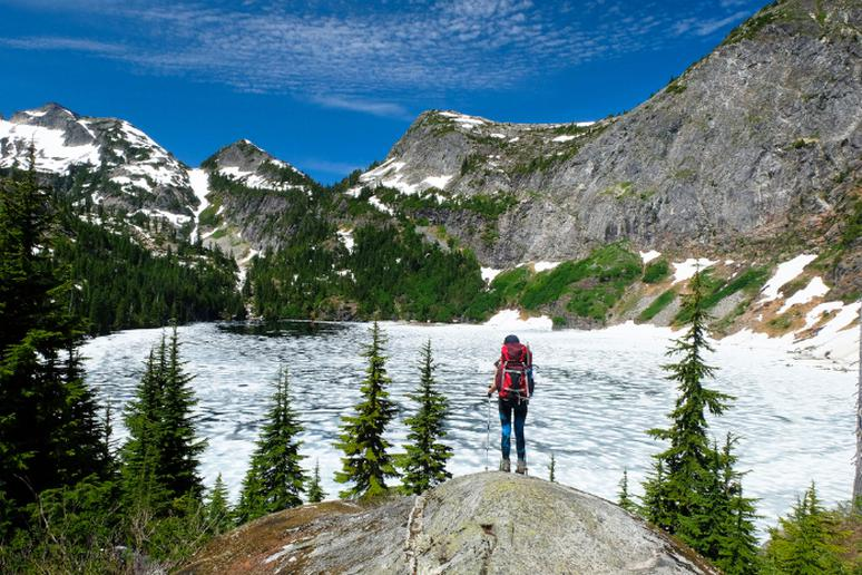 Go backpacking in the North Cascades