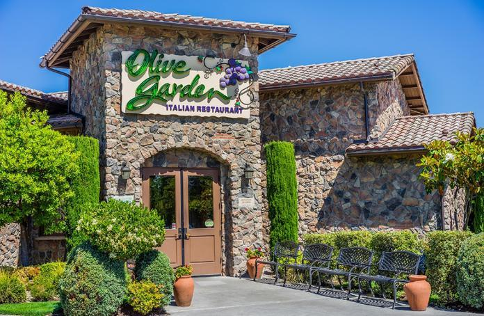 Olive Garden Offers Free Delivery On Orders Over 40