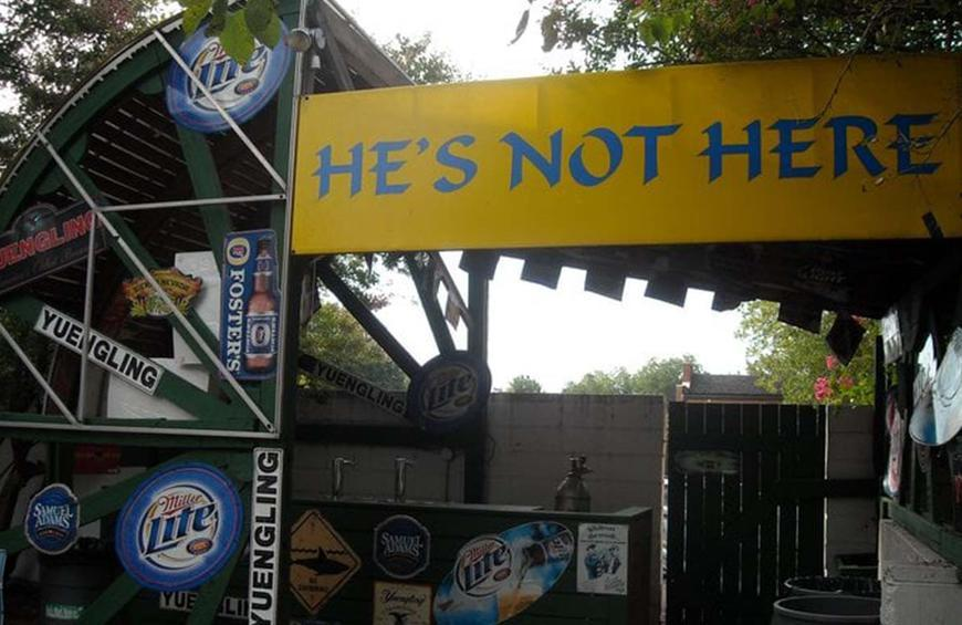 North Carolina: He's Not Here (Chapel Hill)