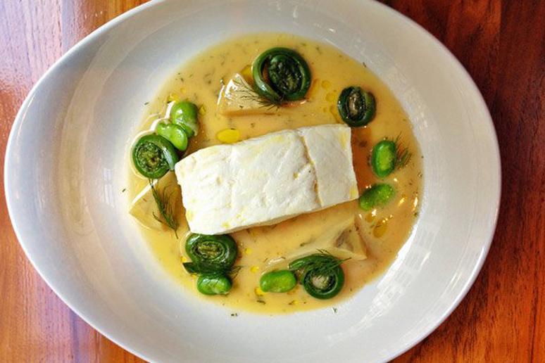 Halibut Barigoule
