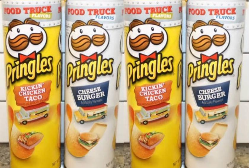 Pringles Has Two New Food Truck Flavors Kickin Chicken Taco And