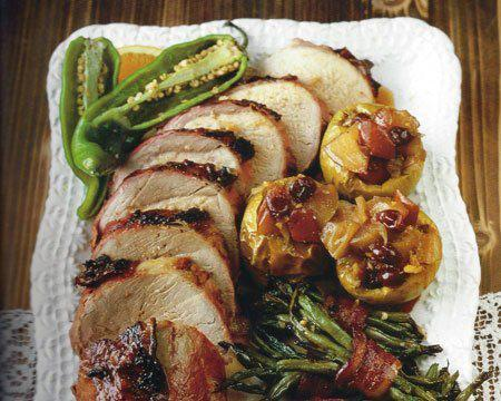 Texas Spice Rubbed Roast Pork Recipe By Rebecca Rather