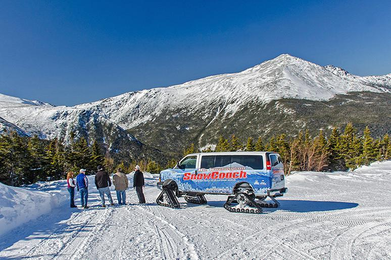 New Hampshire: Mt. Washington SnowCoach (Gorham)