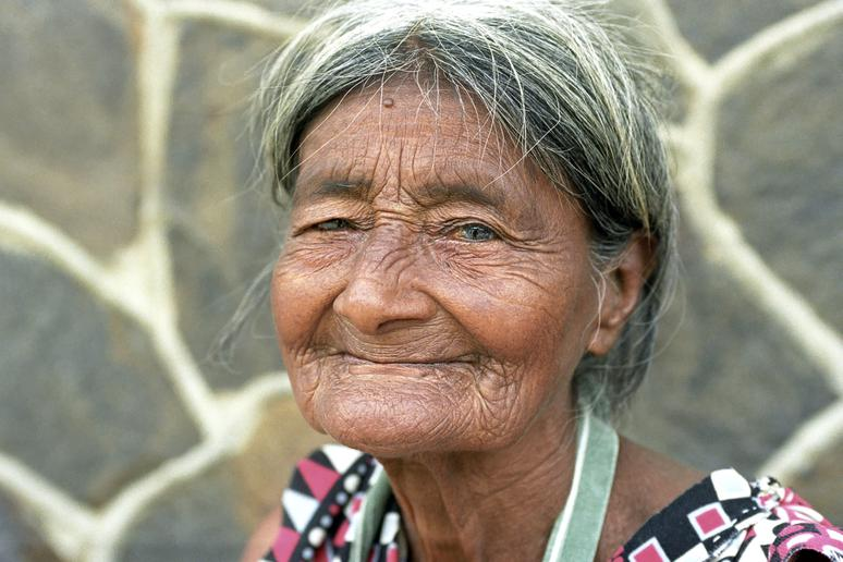 29. Wizened