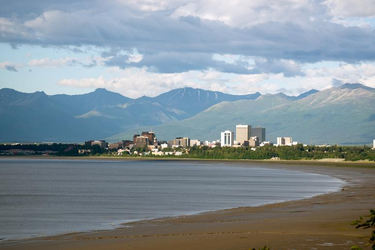 23.  Anchor down in Anchorage