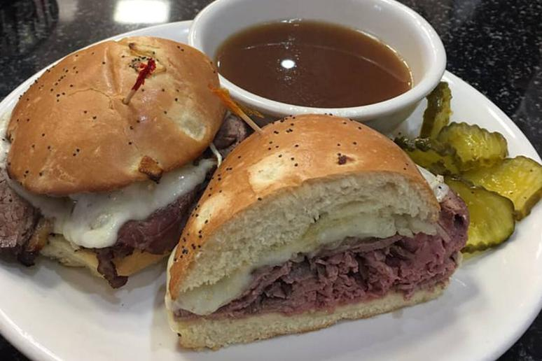 Washington, D.C.: MGM Roast Beef: French Dip