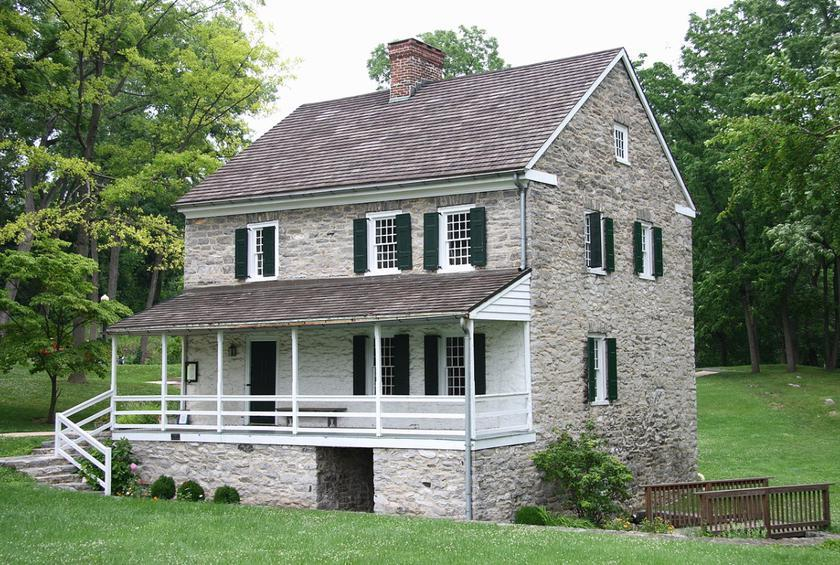 Maryland: Hager House (Hagerstown)