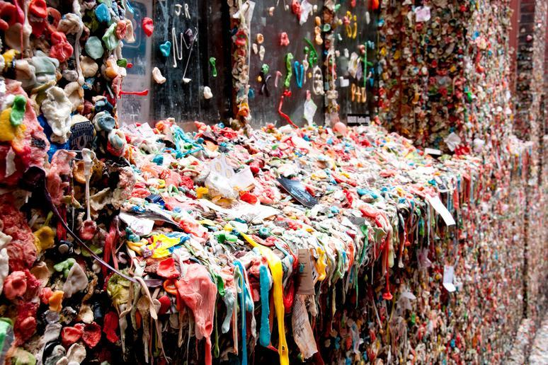 Market Theater Gum Wall (Seattle, Washington)