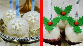 Festive Holiday Cake Pops
