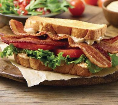 BLT with Balsamic Mayonnaise