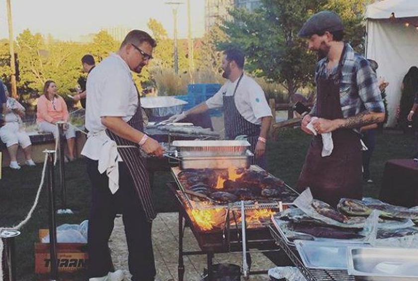 Andy Ricker, Chris Cosentino, Gavin Kaysen, and Other Chefs Grill to Their Hearts' Content at Smoked