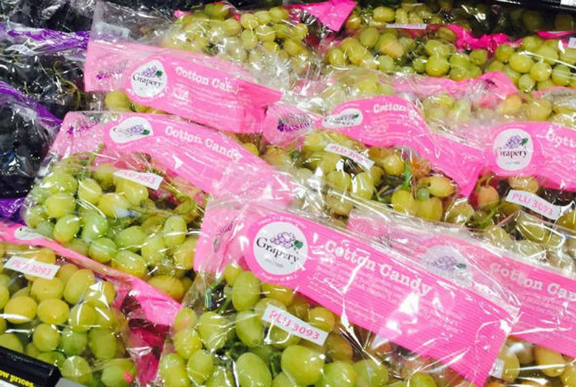 why do cotton candy grapes actually taste like cotton candy
