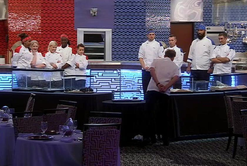 there had better be beef wellington on the menu - Hells Kitchen Restaurant
