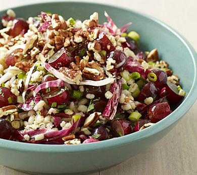 Barley Salad with Grapes and Pecans
