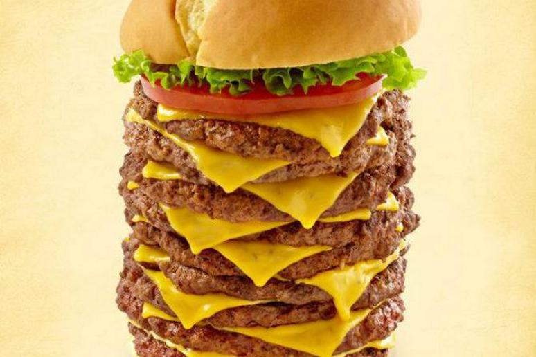 Eat This Colossal Two-Pound Burger and You Could Win $3,330!
