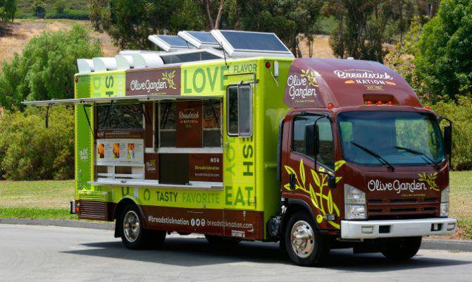 Olive Garden Is Entering the Food Truck Business Starting This Month ...