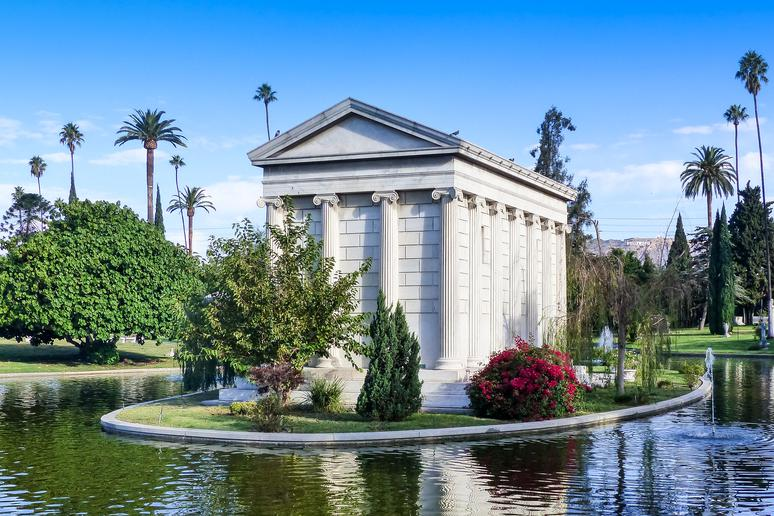 Pay your respects at the Hollywood Forever Cemetery