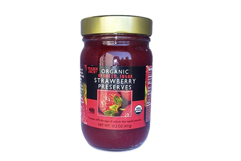 Reduced Sugar Strawberry Preserves