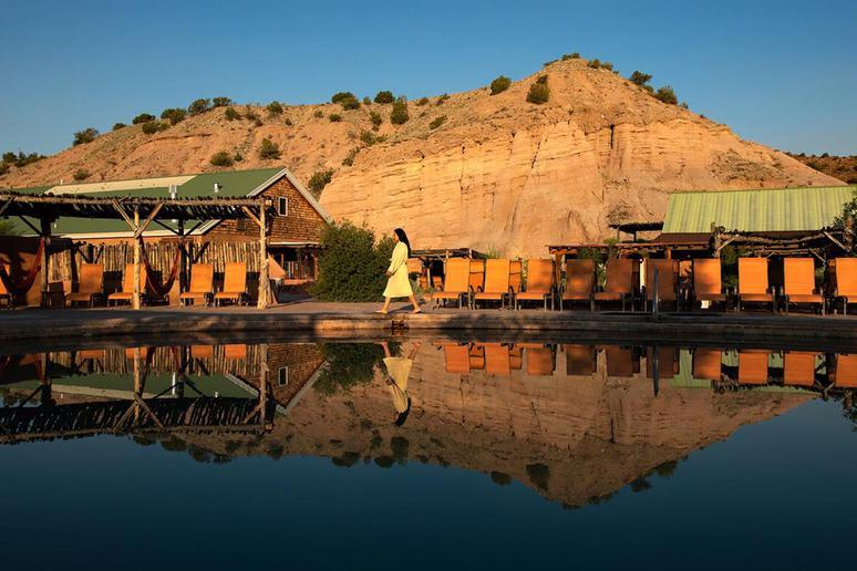 New Mexico: Ojo Caliente Mineral Springs Resort & Spa (Ojo Caliente)
