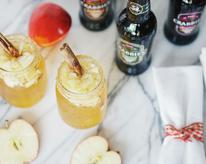 Apple Ginger Snap Cocktail