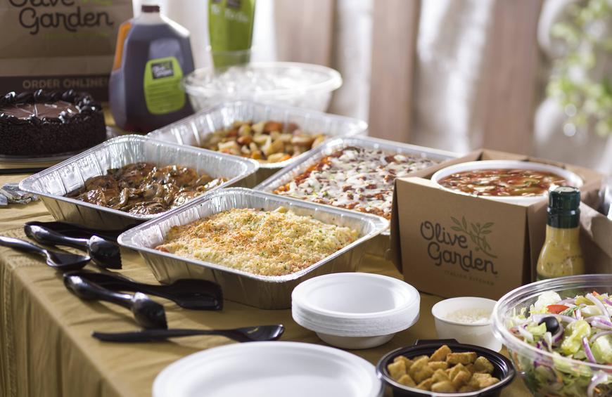 Menu For Olive Garden: Olive Garden Wants To Cater Your Next Party