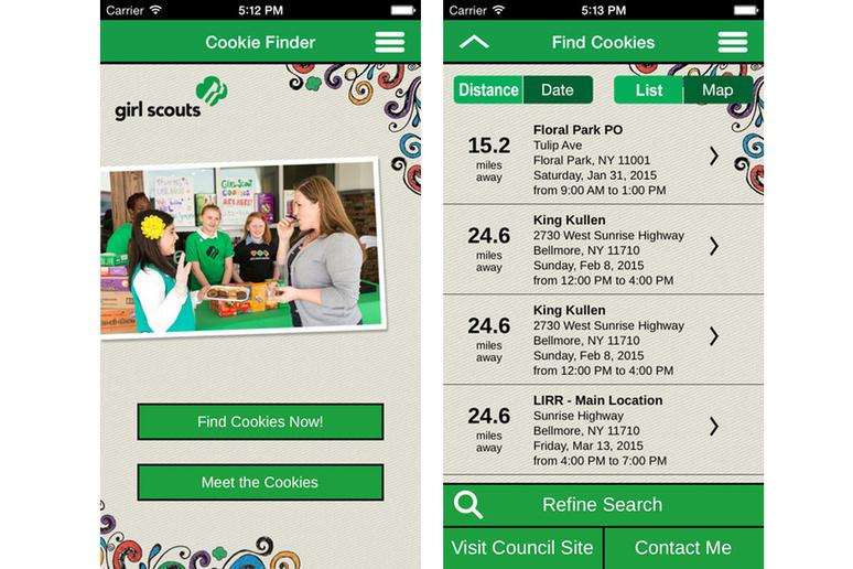 There's a Mobile Cookie-Locator App