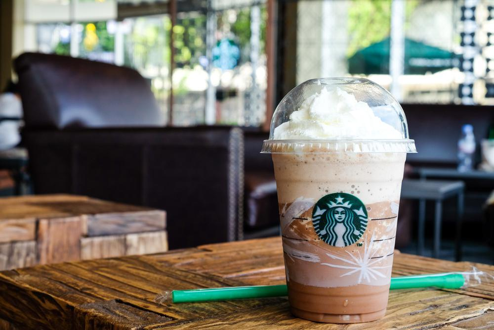Healthiest: 10. Coffee Light Frappuccino Blended Coffee from The Healthiest  and Unhealthiest Starbucks Drinks Gallery - The Daily Meal