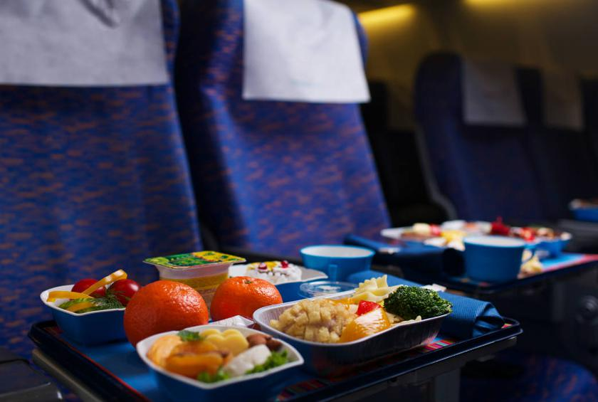 Particularly loud turbulence? Your in-flight snacks may taste a little blander.