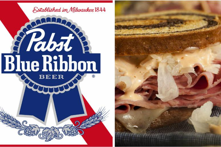 With a clever name like the Pabst Blue Reuben, how can we not give this recipe a try?