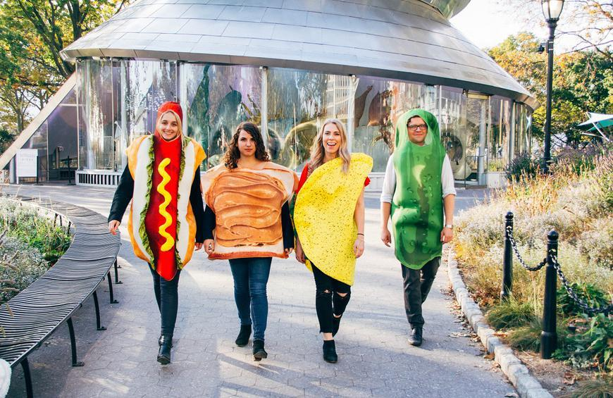 Food Halloween Costumes.Why Food Is The Ultimate Halloween Costume