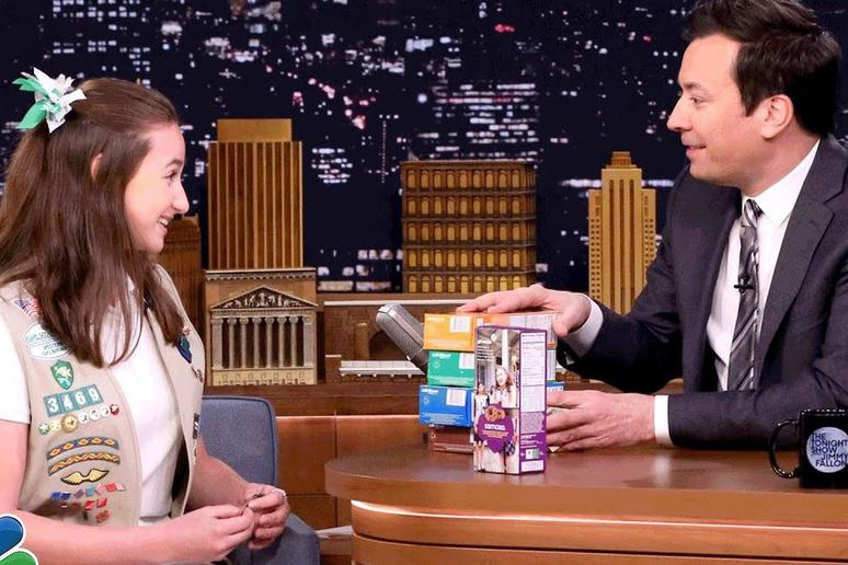 Jimmy Fallon Helped Break the Record for Most Cookies Sold