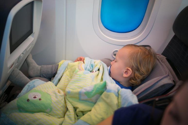 Small children as passengers