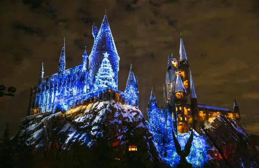Have A Magical Holiday With Christmas In The Wizarding World Of