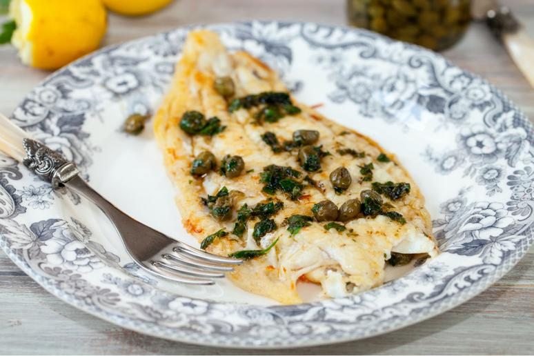 Grilled Sole and Vegetables